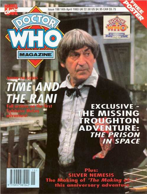 Doctor Who Magazine #198