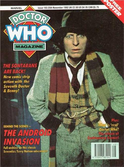 Doctor Who Magazine #193