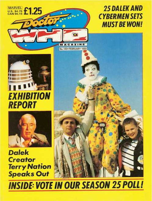 Doctor Who Magazine #145