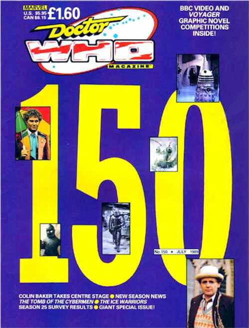 Doctor Who Magazine #150