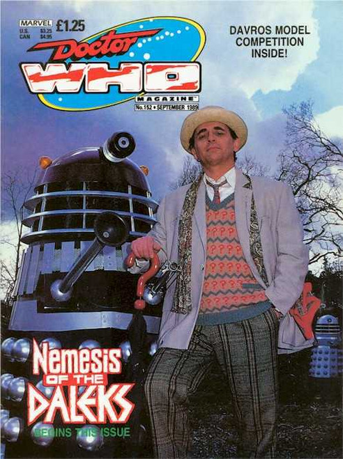 Doctor Who Magazine #152