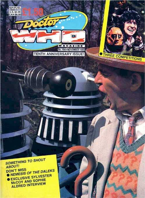 Doctor Who Magazine #154