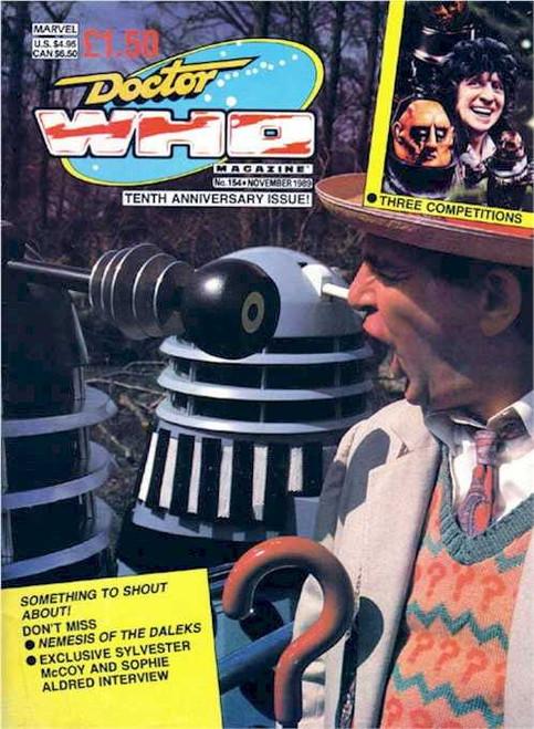 Doctor Who Magazine #154