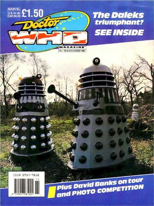 Doctor Who Magazine #155