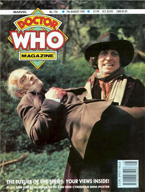 Doctor Who Magazine #176