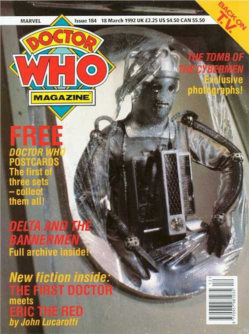 Doctor Who Magazine #184