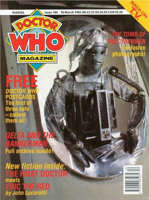 Doctor Who Magazine #184
