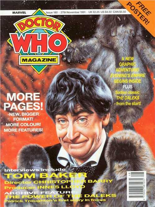 Doctor Who Magazine #180