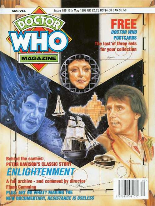 Doctor Who Magazine #186