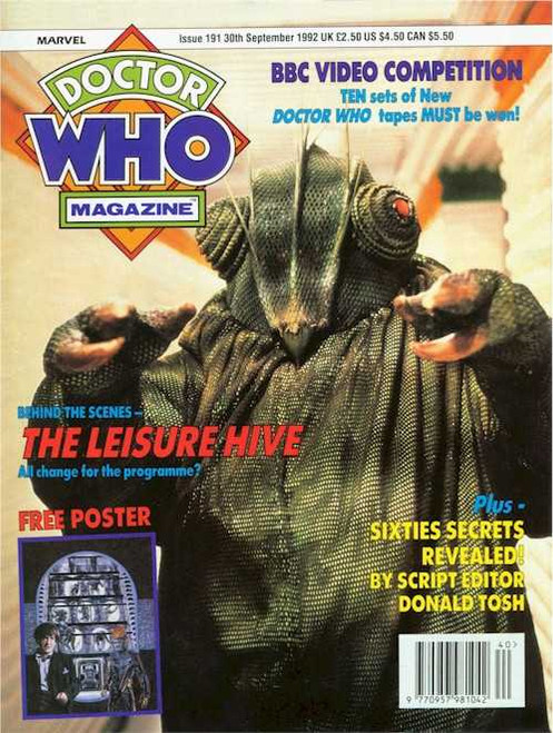 Doctor Who Magazine #191