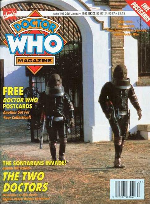 Doctor Who Magazine #195