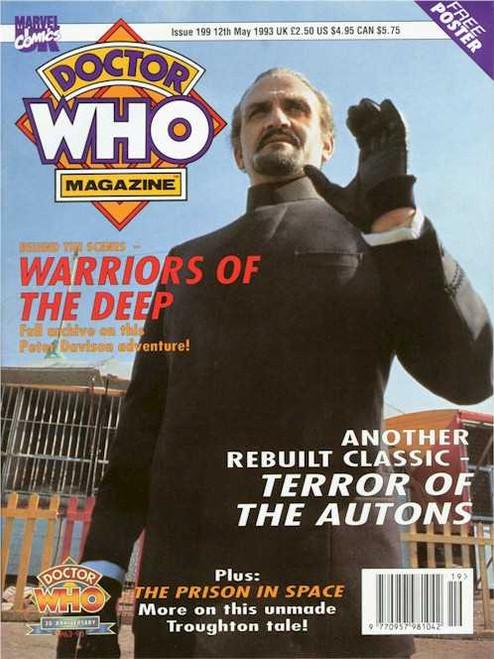 Doctor Who Magazine #199