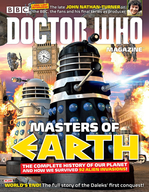 Doctor Who Magazine #487 - Masters of Earth