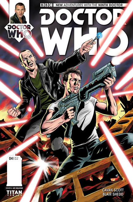 9th Doctor Titan Comics #4