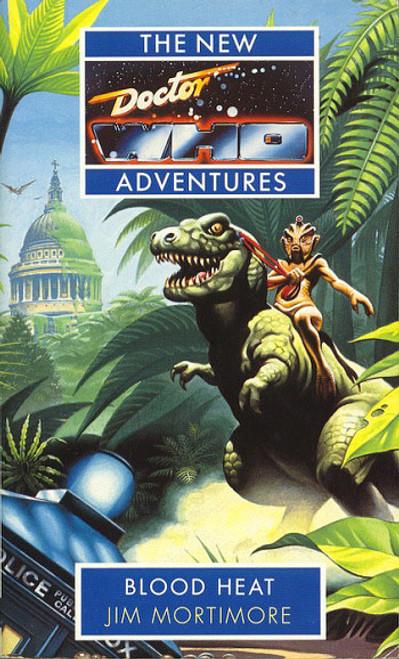 """Blood Heat"" New Adventures Paperback Book"