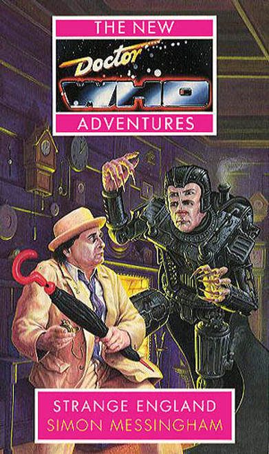 """Strange England"" New Adventures Paperback Book"