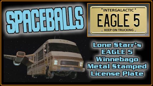 "License Plate - SPACEBALLS - ""EAGLE 5"""