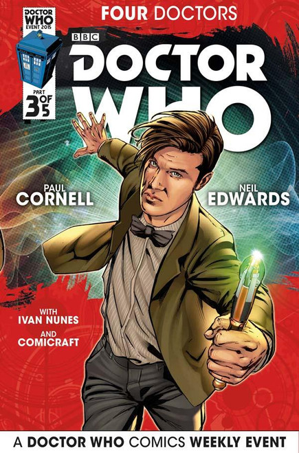 Four Doctors 2015 Event Titan Comics #3 of 5