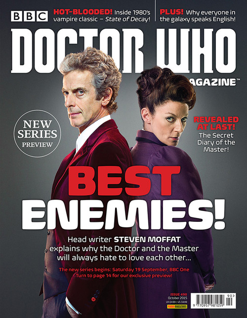 Doctor Who Magazine #490 - Best Enemies!