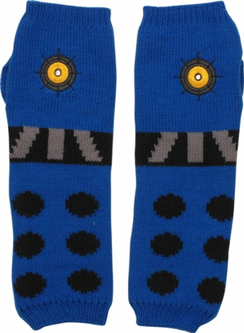 Blue Dalek Arm Warmers