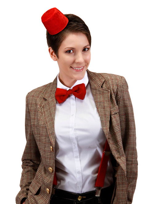 11th Doctor Bow Tie and Mini Fez