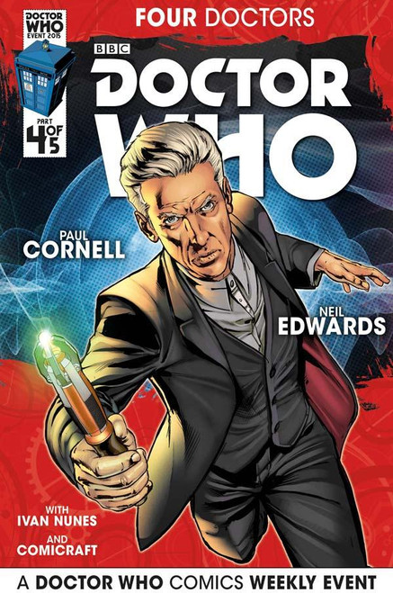 Four Doctors 2015 Event Titan Comics #4 of 5