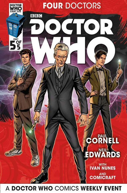 Four Doctors 2015 Event Titan Comics #5 of 5