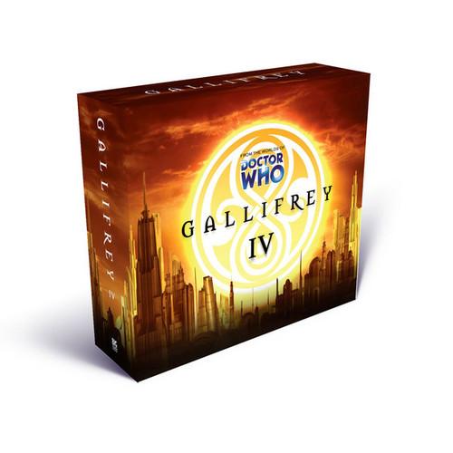 Gallifrey Series 4 - Big Finish Audio CD