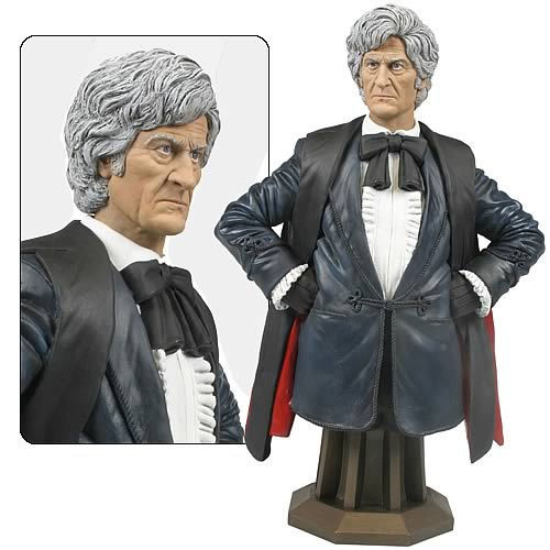 Doctor Who Masterpiece Collection Bust - 3rd Doctor - Jon Pertwee