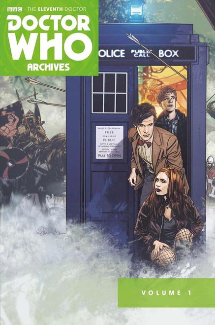 11th Doctor Archives Omnibus Vol. 1 Titan Comics