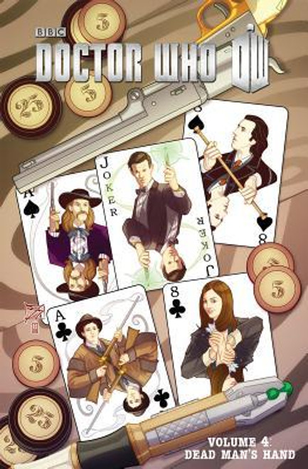 "Series 3, Vol. 4 ""Dead Man's Hand"" IDW Graphic Novel"