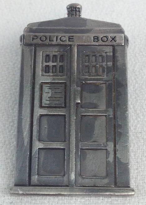 Pewter TARDIS Pin