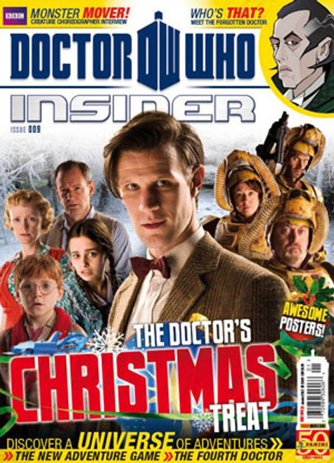 Doctor Who Insider Magazine Issue #9