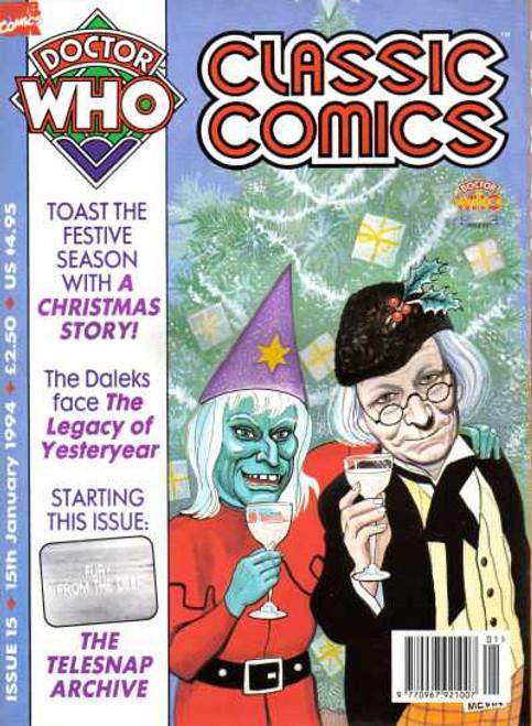 Doctor Who Classic Comics #15