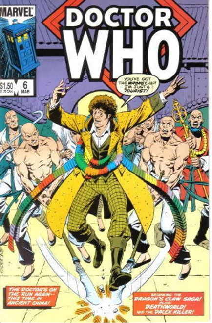 Doctor Who Marvel Comics #6