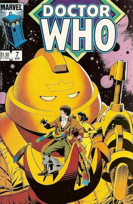 Doctor Who Marvel Comics #7