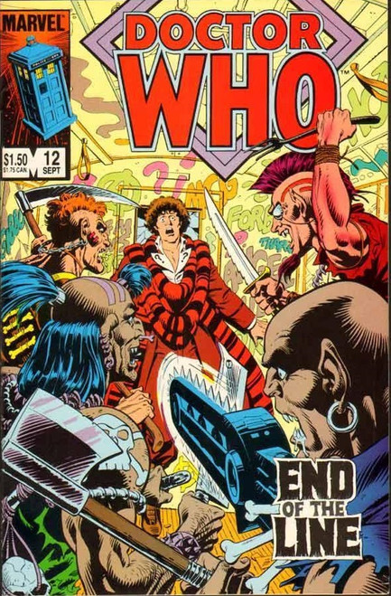 Doctor Who Marvel Comics #12