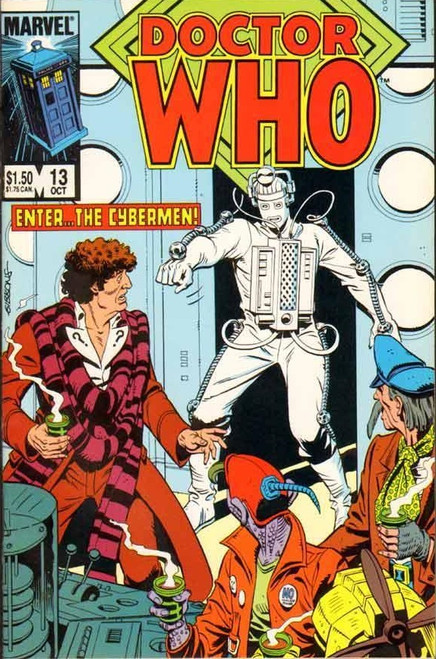 Doctor Who Marvel Comics #13