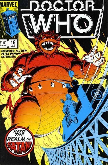 Doctor Who Marvel Comics #16