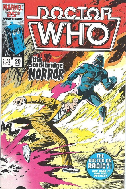 Doctor Who Marvel Comics #20