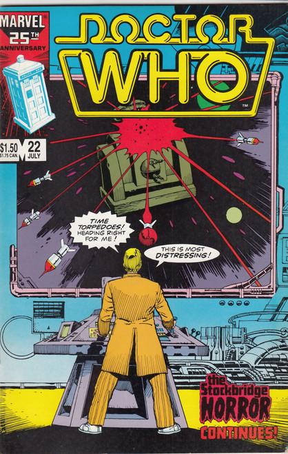 Doctor Who Marvel Comics #22