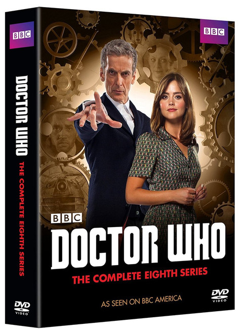 Complete Series 8 DVD Boxed Set - Starring Peter Capaldi as the Doctor