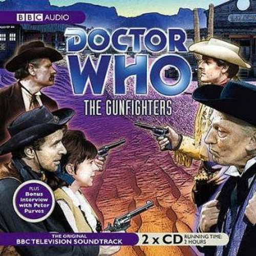The Gunfighters - Original Television Soundtrack - BBC Audio CD