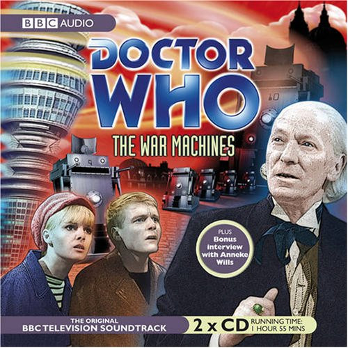 The War Machines - Television Soundtrack - BBC Audio CD