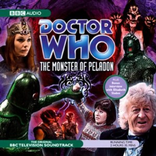 The Monster of Peladon - Original Television Soundtrack - BBC Audio CD