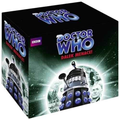 Dalek Menace Boxed Set - BBC Audiobooks - Three stories on 15 CDs