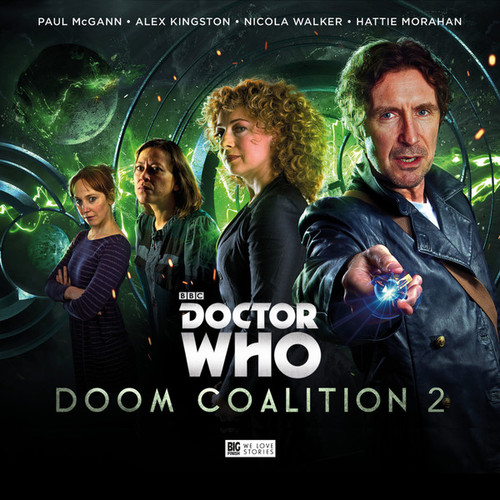 Doctor Who DOOM COALITION Eighth Doctor (Paul McGann) Audio Drama Boxed Set #2 from Big Finish