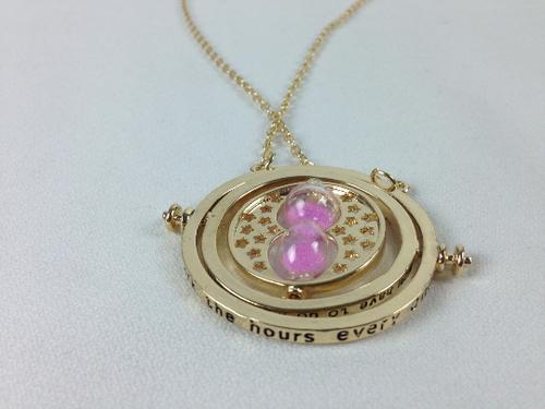 Time Turner Pendant (Pink Sand)