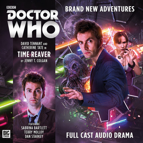 The Tenth Doctor Adventures 1.2 - Time Reaver Big Finish Audio CD