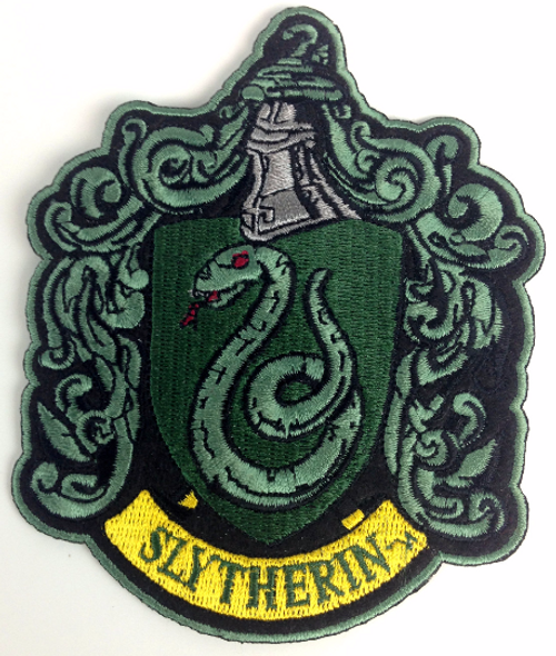 Harry Potter - Slytherin Patch